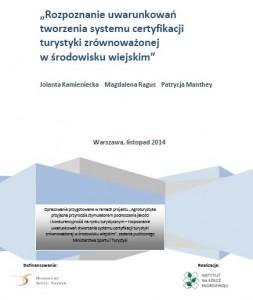 okladkaekspertyzycertyfikacjaturystykizrównoważonej