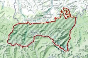 Obszar Natura 2000 Tatry (źródło: http://natura2000.eea.europa.eu/Natura2000/SDF.aspx?site=PLC120001#2)